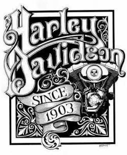 Harley Davidson clipart ipad