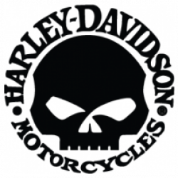 Harley Davidson clipart skull