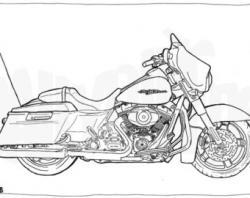 Harley Davidson clipart street glide