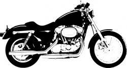 Harley Davidson clipart vector
