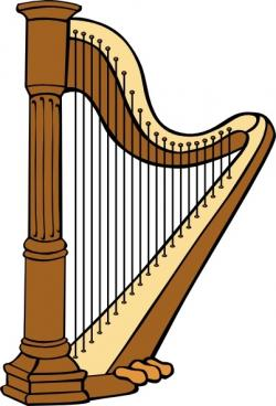 Harp clipart classic
