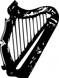 Harp clipart drawing