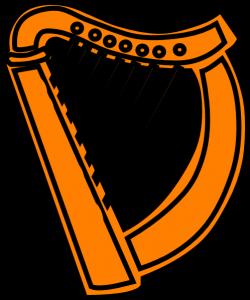 Guinness clipart golden harp