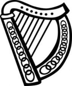 Harp clipart guinness