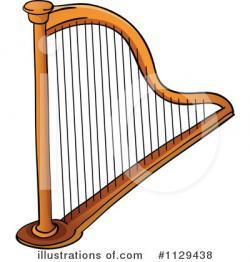 Harp clipart instrument