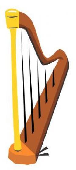 Instrument clipart harp