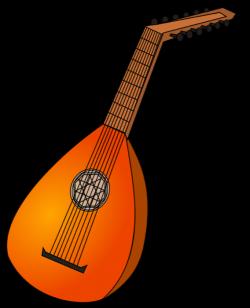 Musician clipart string instrument
