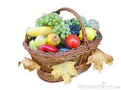 Harvest clipart autumn fruit