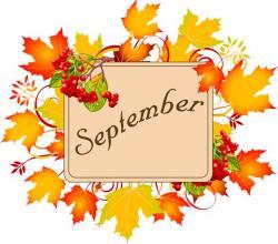 Falling clipart september