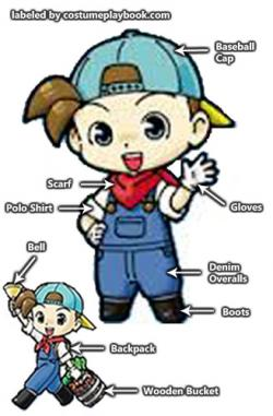 Harvest Moon clipart blue moon
