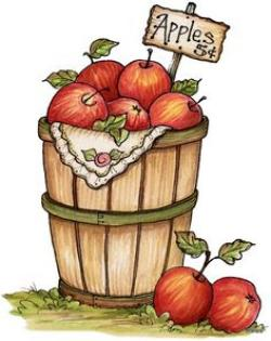 Harvest Moon clipart fall apple