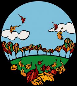 Breeze clipart autumn weather