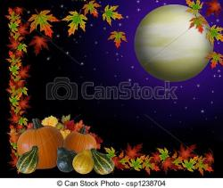 Harvest Moon clipart free fall