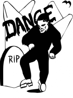 Frankenstein clipart dancing