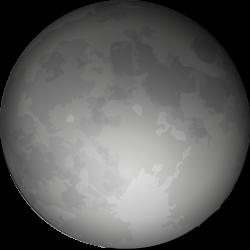 Harvest Moon clipart spooky moon