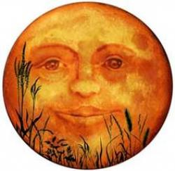 Harvest Moon clipart victorian