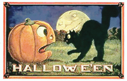 Harvest Moon clipart vintage