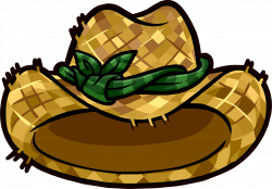 Straw Hat clipart farm