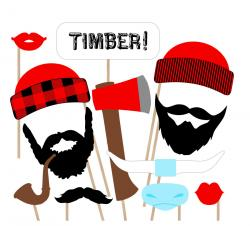 Timber clipart lumberjack