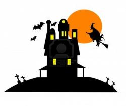 Horror clipart haunted castle