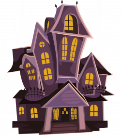 Spooky clipart haunted mansion