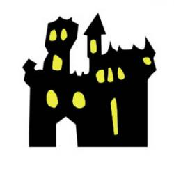 Haunted clipart dark castle