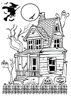 Haunted House clipart door