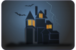 Spooky clipart window