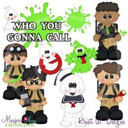 Ghostbusters clipart cartoon