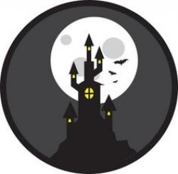 Haunted clipart halloween vampire