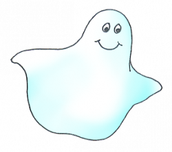 Haunted clipart happy ghost