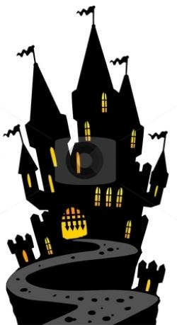 Haunted clipart haunted castle