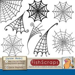 Haunted clipart spiderman web
