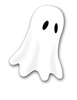Drawn ghostly clipart transparent background