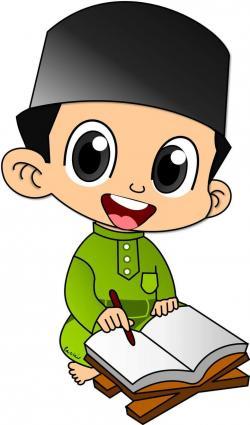 Islam clipart reading quran