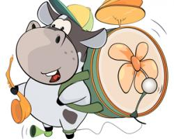 Haven clipart bull