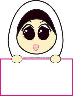 Islam clipart hijab