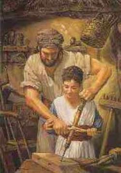 Haven clipart joseph father jesus