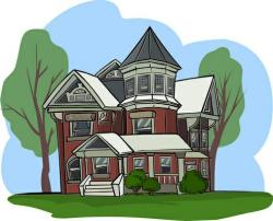 Mansion clipart rich house
