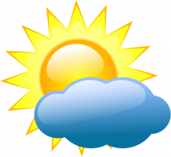 Haven clipart sun cloud