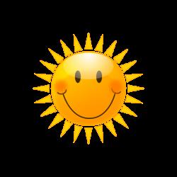 Small clipart sunshine