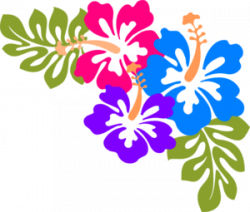 Floral clipart hawaii