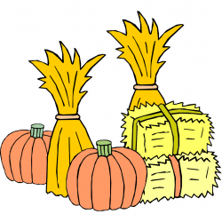 Harvest clipart haystack