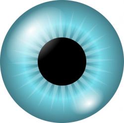 Eyeball clipart iris eye