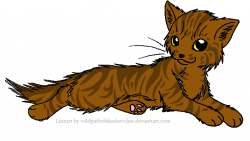 Tabby Cat clipart brown cat