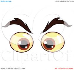 Hazel Eyes clipart eyebrow