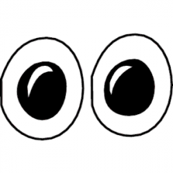 Hazel Eyes clipart happy eye