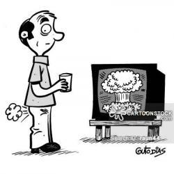 H-bomb clipart funny cartoon