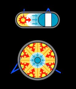 H-bomb clipart original