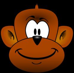 Baboon clipart face